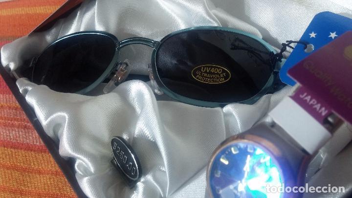 Relojes: Botito set de reloj y gafas, stock de tienda, valorado en su día en 250 dorales, ideal regalo navite - Foto 25 - 103998531