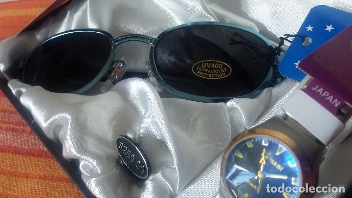 Relojes: Botito set de reloj y gafas, stock de tienda, valorado en su día en 250 dorales, ideal regalo navite - Foto 26 - 103998531