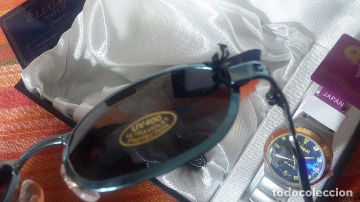 Relojes: Botito set de reloj y gafas, stock de tienda, valorado en su día en 250 dorales, ideal regalo navite - Foto 31 - 103998531