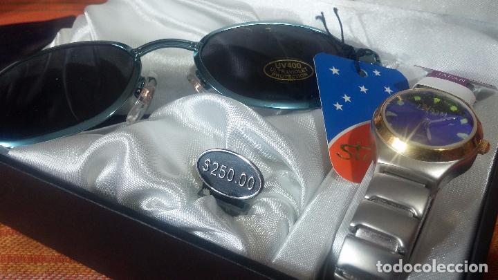 Relojes: Botito set de reloj y gafas, stock de tienda, valorado en su día en 250 dorales, ideal regalo navite - Foto 46 - 103998531