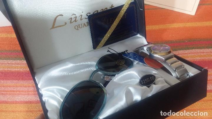 Relojes: Botito set de reloj y gafas, stock de tienda, valorado en su día en 250 dorales, ideal regalo navite - Foto 52 - 103998531