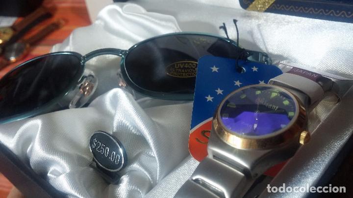 Relojes: Botito set de reloj y gafas, stock de tienda, valorado en su día en 250 dorales, ideal regalo navite - Foto 56 - 103998531