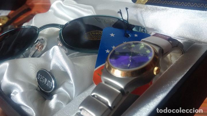 Relojes: Botito set de reloj y gafas, stock de tienda, valorado en su día en 250 dorales, ideal regalo navite - Foto 57 - 103998531