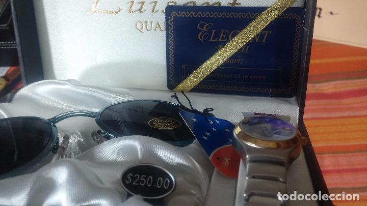 Relojes: Botito set de reloj y gafas, stock de tienda, valorado en su día en 250 dorales, ideal regalo navite - Foto 59 - 103998531