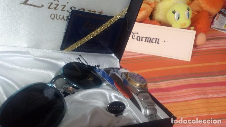 Relojes: Botito set de reloj y gafas, stock de tienda, valorado en su día en 250 dorales, ideal regalo navite - Foto 63 - 103998531