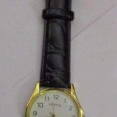Relojes: RELOJ GENEVA DE CUARZO CHAPADO EN ORO. Lote 104611895