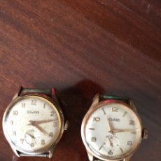 Relojes: PAREJA DE RELOJES DUWARD EN FUNCIONAMIENTO. Lote 104668755