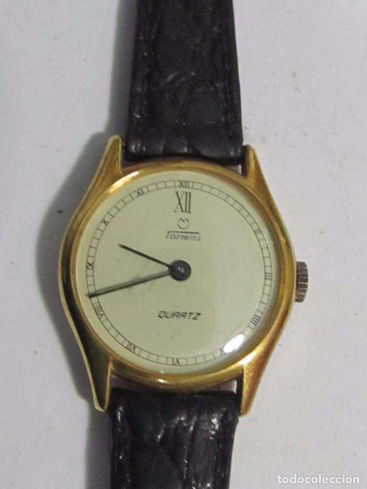 Relojes: RELOJ TORMAS DE CUARZO CHAPADO EN ORO - Foto 2 - 104707231