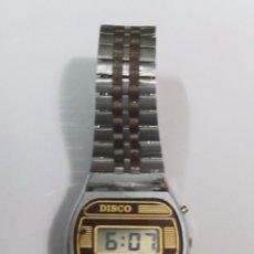 Relojes: RELOJ DIGITAL DISCO, DE CUARZO. Lote 104802199