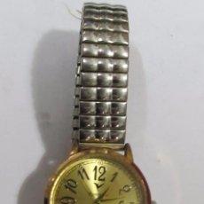 Relojes: RELOJ ROMTIMES DE CUARZO CHAPADO EN ORO. Lote 105097695