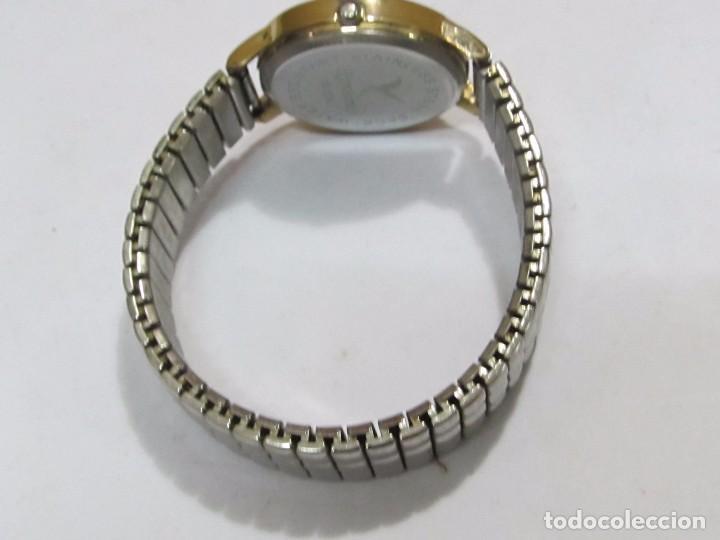 Relojes: RELOJ ROMTIMES DE CUARZO CHAPADO EN ORO - Foto 3 - 105097695