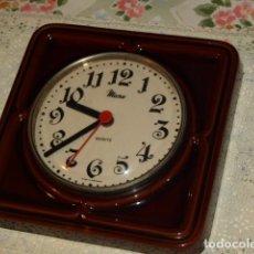 Relojes: RELOJ DE PORCELANA ESMALTADA MICRO.AÑOS 70.. Lote 105114831