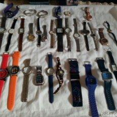 Relojes: INTERESANTE LOTE DE 31 RELOJES DISTINTAS MARCAS Y MODELOS. Lote 105237638