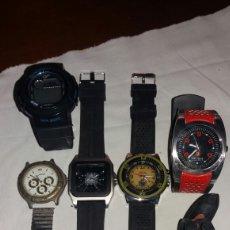 Relojes: LOTE DE 6 RELOJES QUARTZ DE DISTINTAS MARCAS. Lote 105339454