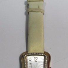 Relojes: RELOJ MORELLATO DE CUARZO, CHAPADO EN ORO Y CON ZIRCONITAS. Lote 105350923
