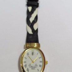 Relojes: RELOJ NEWMAN DE CUARZO CHAPADO EN ORO. Lote 105455147