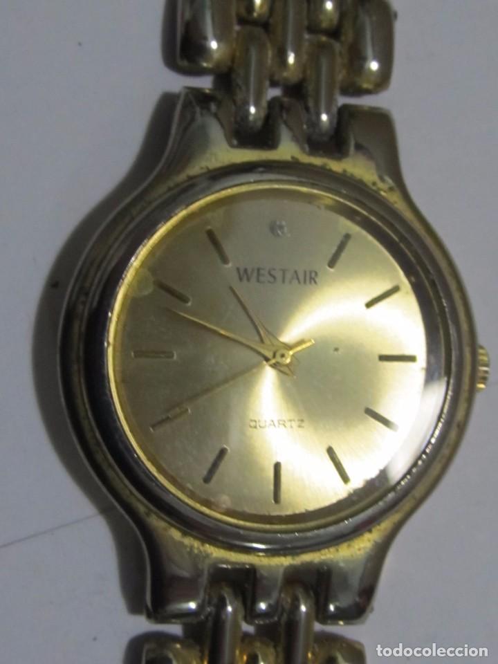 Relojes: RELOJ WESTAIR DE CUARZO CHAPADO EN ORO - Foto 2 - 105667707