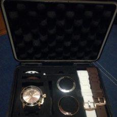 Relojes: CRONOGRAFO MAX CHAMAELEO, 48 MM, CON.MUCHOS EXTRAS EN SU MALETIN.. Lote 105692267