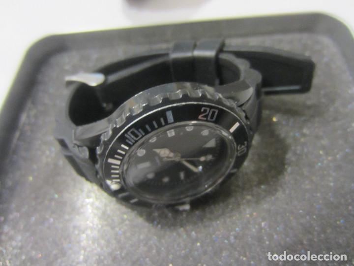 Relojes: PAREJA DE RELOJES CABALLERO Y CADETE O SEÑORA, DEPORTIVOS, QUARTZ,ESFERA NEGRA.NUEVOS - Foto 5 - 134424831