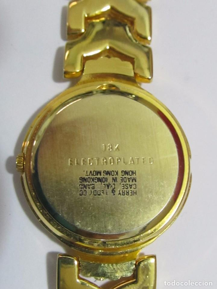 Relojes: RELOJ SUIZO DE CUARZO, CHAPADO EN ORO - Foto 2 - 106572583