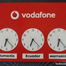 Relojes: RELOJ PUBLICITARIO VODAFONE. Lote 106619675