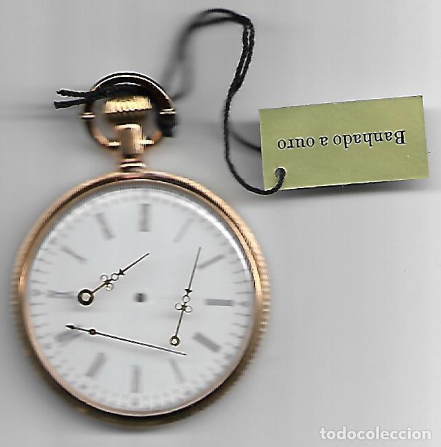 RELOJES DE COLECCION DE BOLSILLO DE PILAS ES NECESARIO COLOCAR LAS MANILLAS (Relojes - Relojes Actuales - Otros)
