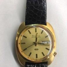 Relojes: BULOVA ACCUTRON EN ORO MACIZO 18 K PARA CABALLERO, NUNCA USADO A ESTRENAR DE JOYERIA.. Lote 144906304