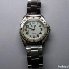 Relojes: RELOJ JAPONES DE CUARZO PARA HOMBRE LTD.FUNCIONA BIEN. Lote 107655819