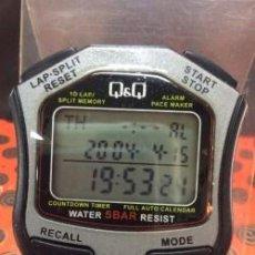 Relojes: RELOJ CRONOMETRO DE MANO Q & Q ¡ NUEVO. Lote 195044151
