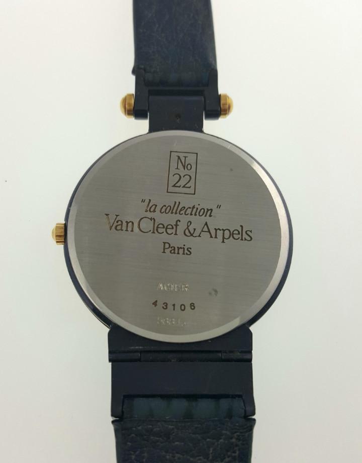 Relojes: VAN CLEEF&ARPELS MOD.LA COLLECTION -PLAQUÈ ORO 18KTS.¡¡NUEVO A ESTRENAR!! - Foto 3 - 61353365