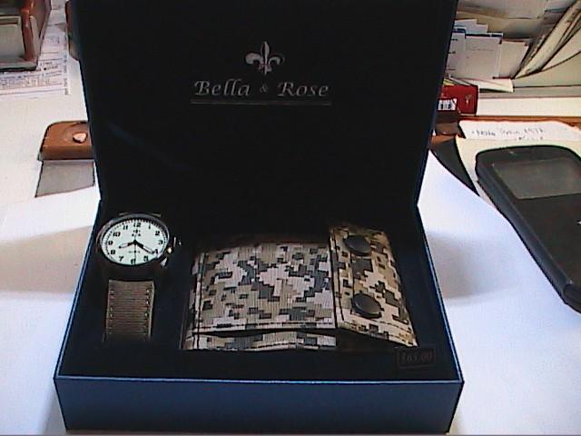 Relojes: LOTE DE RELOJ MILITAR + CARTERA DE LONA MILITAR. NUEVO A ESTRENAR. B&R. - Foto 9 - 108252343