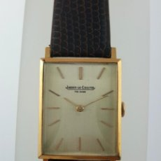 Relojes: JAEGER LE COULTRE ORO 18KT. ¡¡COMO NUEVO!!. Lote 108344407