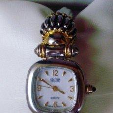 Relojes: RELOJ DE MUJER MARCA KRISTINE QUARTZ, CORREA DE ACERO INOXIDABLE. Lote 108414163