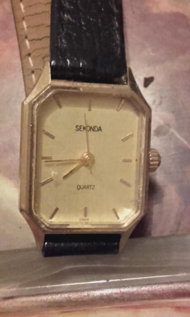 Relojes: MON 1428 RELOJ SEKONDA EN METAL DORADO PARA SEÑORA - Foto 2 - 108679931