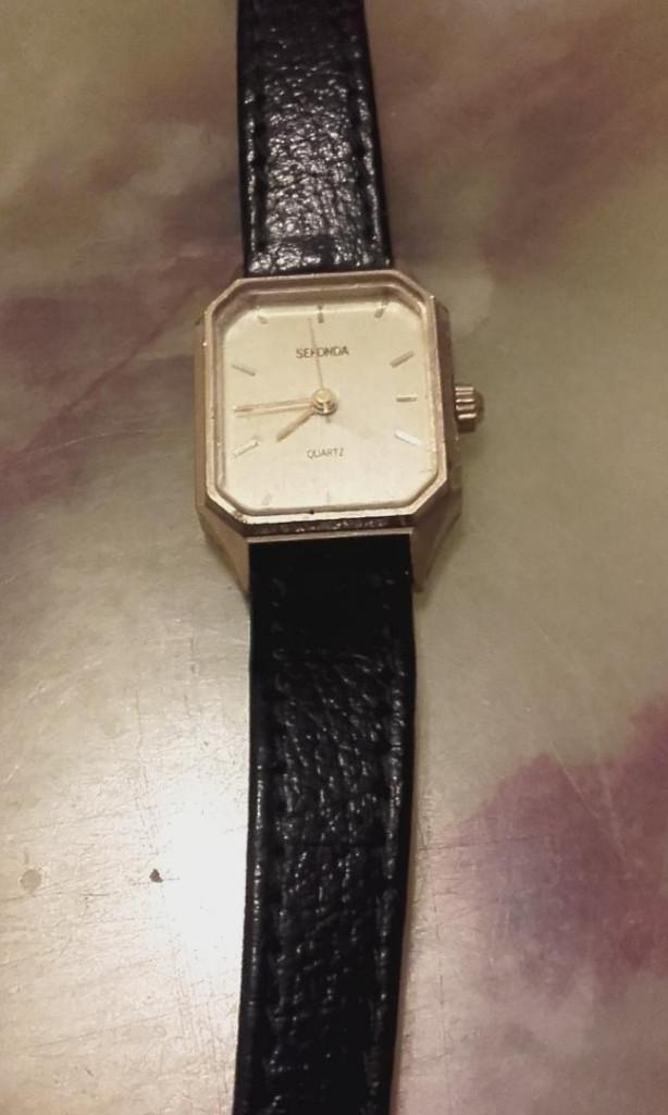 Relojes: MON 1428 RELOJ SEKONDA EN METAL DORADO PARA SEÑORA - Foto 5 - 108679931