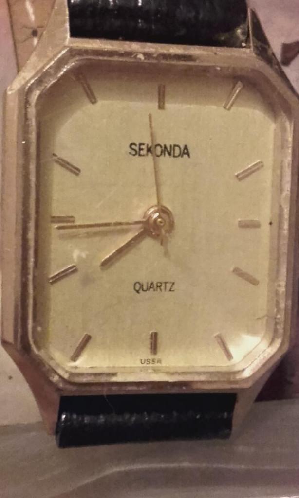 Relojes: MON 1428 RELOJ SEKONDA EN METAL DORADO PARA SEÑORA - Foto 6 - 108679931