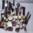 Relojes: LOTE DE 25 RELOJES QUARTZ SIN COMPROBAR CITIZEN, ORIENT... Q3. Lote 108723227
