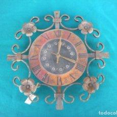 Relojes: RELOJ DE PARED FORJA. Lote 108899491