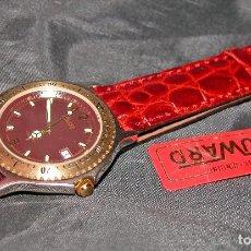 Relojes: RELOJ DE CABALLERO MARCA DUWARD. GRANATE. VINTAGE. NUEVO. NOS.. Lote 109045479