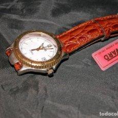 Relojes: RELOJ DE PULSERA MARCA DUWARD. CORREA DE PIEL. VINTAGE. NUEVO. NOS.. Lote 109045967