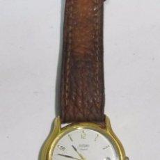 Relojes: RELOJ SUZUKI IMPERIAL DE CUARZO, CHAPADO EN ORO. Lote 109092759