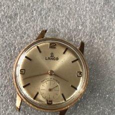 Relojes: RELOJ LANCO ANCRE 17RUBIS SWISS MADE. Lote 109538431