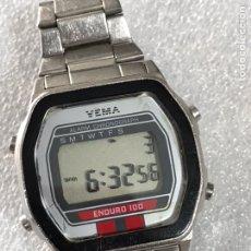 Relojes: RELOJ YEMA ALARM CHRONOGRAPH ENDURO 100. Lote 109540742