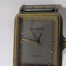 Relojes: RELOJ RADIANT DE CUARZO, CHAPADO EN ORO. Lote 109558143