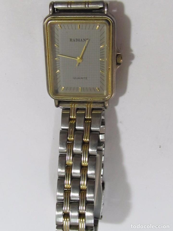 Relojes: RELOJ RADIANT DE CUARZO, CHAPADO EN ORO - Foto 2 - 109558143