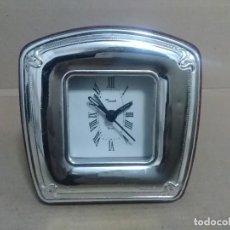 Relojes: RELOJ DE SOBREMESA PLATA 925. Lote 109629063