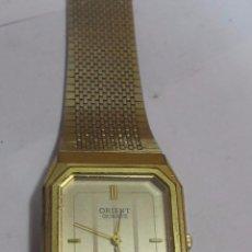 Relojes: RELOJ ORIENT DE CUARZO CHAPADO EN ORO. Lote 154086424