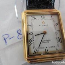 Relojes: RELOJ DE PULSERA ACERO Y ORO MARCA ETERNA-FLORENCE QUARTZ. Lote 110016975