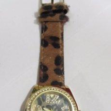 Relojes: RELOJ DE CUARZO DECORADO CON PIEDRAS. Lote 110236715