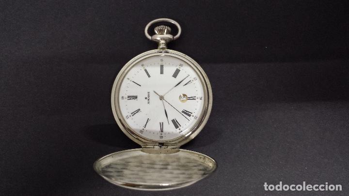Relojes: RELOJ JUNGHANS BOLSILLO PLATA - Foto 2 - 110245759